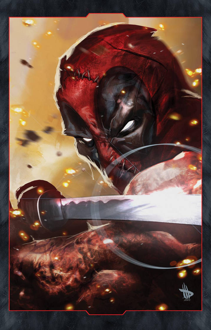 Deadpool by Dave-Wilkins