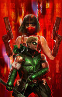 Green Arrow...4 by Dave-Wilkins