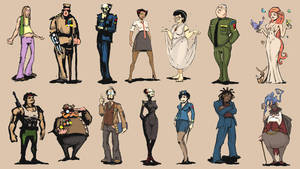 Character Thumbnails by mattbag