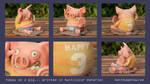 Happy as a Pig... 3D Print by mattbag