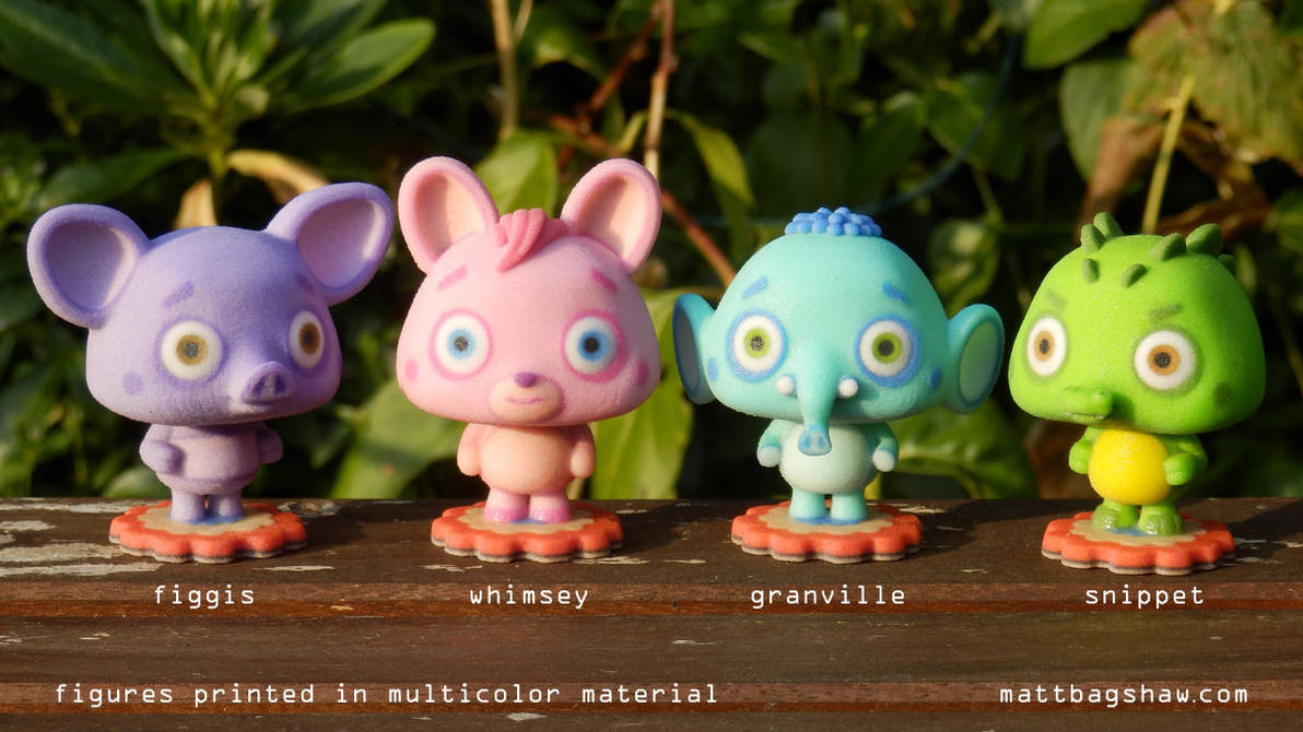 Weird Little Guys by mattbag