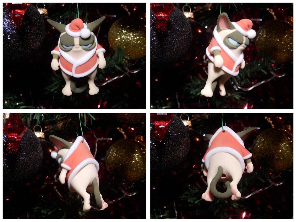 HO! HO! hum... Christmas Cat by mattbag