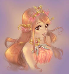 20180810 Koi Fish Princess Rachel by MarineBourrat