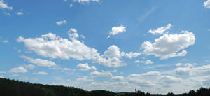 big blue sky stock by fahrmboy-stock