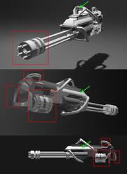 Modified Gatling Gun by AngelicDemonSlayer
