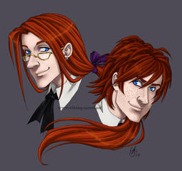 Commish - Dumbledore Brothers by madcarrot