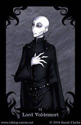 Death Eater Card no.1 by madcarrot