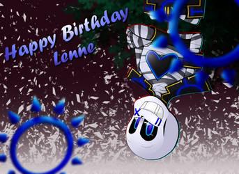Happy Birthday Lenne by Orez-Suke