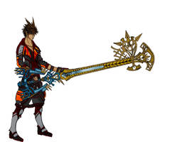 Sora The Keyblade Master by Free-Squall