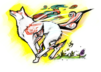 Okami: Shiranui by kurokitty