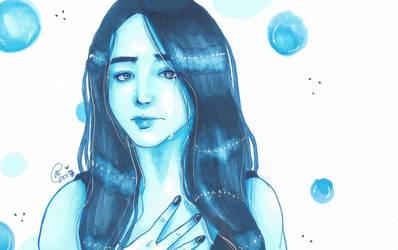 Blue. by Mango-Gurl