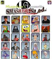 Skapokon's 25 Favourite Lawl Characters by Skapokon