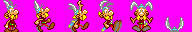 Super Mario War: Asterix Skin by Skapokon