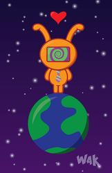 Cute Alien by crimsonprinny