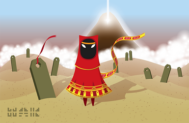 Journey Game Fanart by crimsonprinny