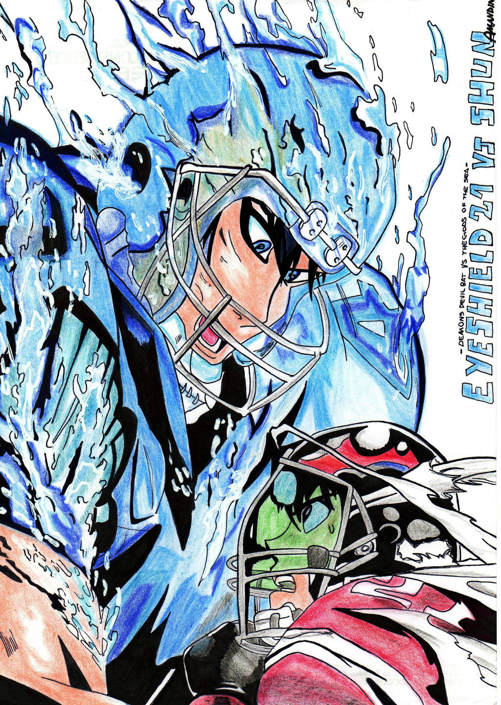 eyeshield 21 volume 14 by amandin93