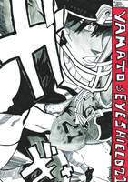 eyeshield 21 vs yamato by amandin93