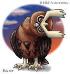 #164 Noctowl by Bafa