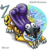 #243 Raikou by Bafa