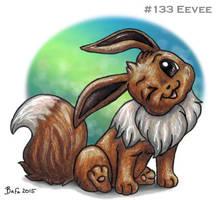 #133 Eevee by Bafa