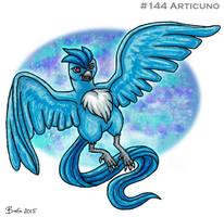 #144 Articuno by Bafa