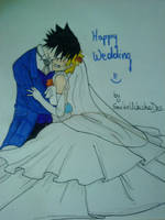 SasuNaru Wedding by SaskeUchichaDes