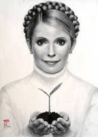 Julia Tymoshenko by VforVieslav