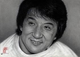 Jackie Chan by VforVieslav