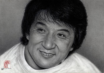 Jackie Chan by VforVieslav