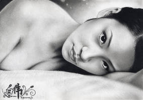 Lucy Liu by VforVieslav
