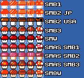 SMM Mushroom Blocks by REDBIRD030