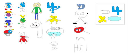 Cindos' Quality MS Paint Drawings And Stuff (PAR1) by REDBIRD030