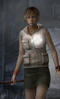 Heather In silent Hill by emmaod