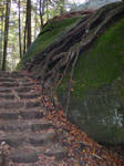 Stairs STOCK by alienjacki-stock