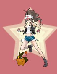 Pokemon White by amyhattori