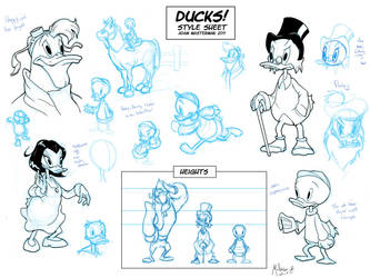 Disney Ducks Guide by AdamMasterman