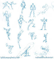 Sketch Dump: Figures by AdamMasterman