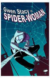 Spider-Gwen by AdamMasterman