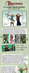 Archery for Comic Book Artists (and everyone else) by AdamMasterman