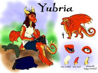 My Ref Sheet by Yubria