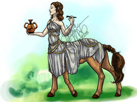 Grecian Kentauride by Yubria