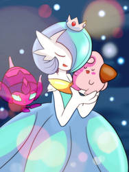 Space  Mommy Gardevoir by SushibiX3