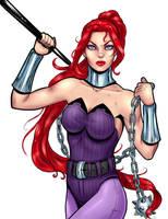 female ninja by Salamandra88