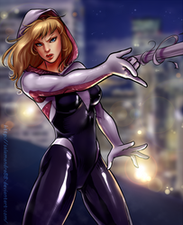 Spider-Gwen by Salamandra88