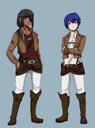 Uniforms by OniInu