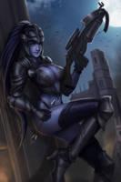 Medieval Widow Maker xD by FigmentC