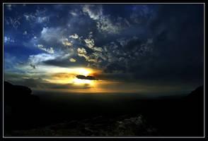 Evening sky... by mountain-troll