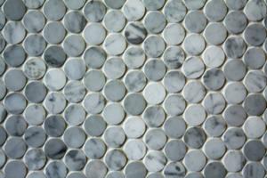 circle marble tile by beckas
