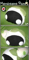 Mandragora Pillow by NekoNaoko