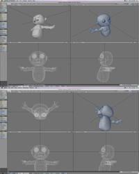 Character designs. baby by yoko-yakumo